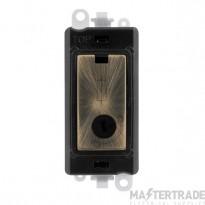 Click Grid Pro GM2047-LBKAB 13A Fused Lockable Mod Bk Ant/Brass