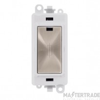 Click Grid Pro GM2047PWBS 13A Fused Module White B/Stainless