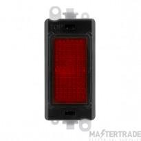Click Grid Pro GM2080BK Red Indicator Module Black