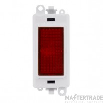 Click Grid Pro GM2080PW Red Indicator Module White