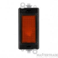 Click Grid Pro GM2081BK Amber Indicator Module Black