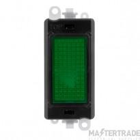 Click Grid Pro GM2082BK Green Indicator Module Black