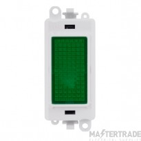 Click Grid Pro GM2082PW Green Indicator Module White