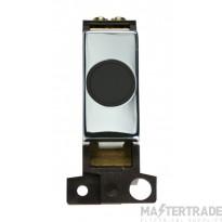 Click MiniGrid MD017BKCH Black Pol/Chrome 20A Flex Outlet Module