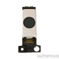 Click MiniGrid MD017BKPN Black Pearl Nickel 20A Flex Outlet Mod