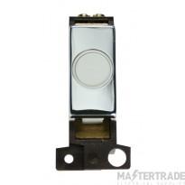 Click MiniGrid MD017WHCH White Pol/Chrome 20A Flex Outlet Module