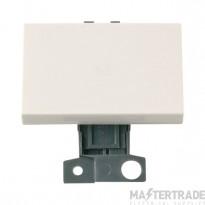 Click MiniGrid MD038PW Polar White 2 Way Intermediate Paddle Sw