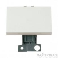 Click MiniGrid MD038WH White 2 Way Intermediate Paddle Sw Module