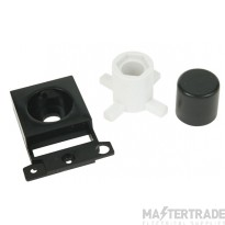 Click MiniGrid MD150BK Black Dimmer Module Mounting Kit