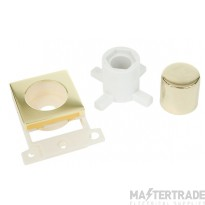 Click MiniGrid MD150BR Polished Brass Dimmer Module Mounting Kit