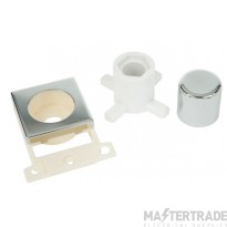 Click MiniGrid MD150CH Pol/Chrome Dimmer Module Mounting Kit