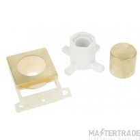 Click MiniGrid MD150SB Satin Brass Dimmer Module Mounting Kit
