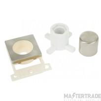Click MiniGrid MD150SC Satin Chrome Dimmer Module Mounting Kit