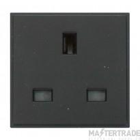 Click New Media MM010BK 13A UK Single Socket Outlet Black
