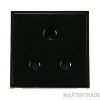 Click New Media MM038BK 5A Round Pin Socket Outlet Black