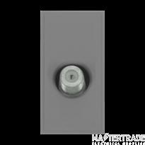 Click MM405GY Socket Sat Female Blk