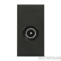 Click New Media MM415BK Single Male Coax Module Black
