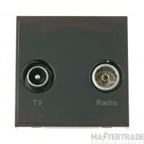 Click New Media MM420BK Diplexed TV and Radio Module Black