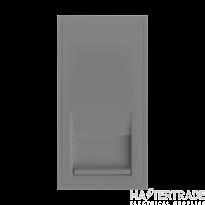 Click MM465GY Socket Tel Secondary Blk