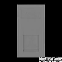 Click MM470GY Socket RJ11 Blk