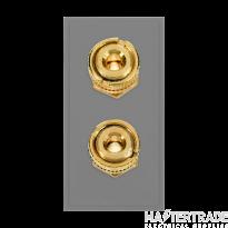 Click MM495GY Socket 2xLoud Speaker Blk