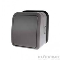 Click AquIP Weatherproof IP66 1 Gang 2 Way Switch OA411AG