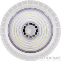 Ovia OV100100WH Inceptor Hion 100W Circular LED High Bay 4000K 14630lm 1-10V Dim IP65 White