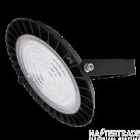 Ovia OV108100 Black Grus 100W Circular LED High Bay 4000K 12720lm 1-10V Dim IP65 Black