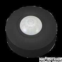 Ovia OVPIR005BK Surface Mounted 360o Compact PIR - IP44 - Black