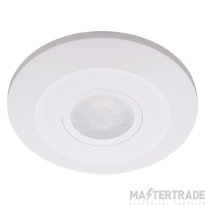 Ovia OVPIR007WH Surface Mounted 360o Low Profile Flush PIR - White