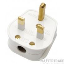 Click 13A Plug Fused Non Standard White PA380WH