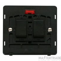 Click Definity 20A Switch Interior Sink & Bath c/w Neon Black SIN024BK