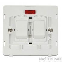 Click Definity 20A Switch Interior Sink & Bath c/w Neon Polar White SIN024PW