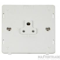 Click Definity 2A Socket Interior Round Pin Polar White SIN039PW