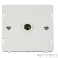 Click Definity Single Coaxial Socket Insert SIN065PW