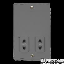 Click SIN100GY DV Shaver Socket Interior
