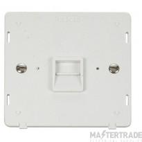 Click Definity Master Telephone Socket Insert SIN120PW