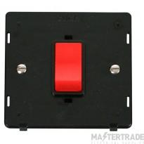 Click Definity 45A DP Switch Single Plate Insert SIN200BK
