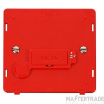 Click Definity 3A Connection Unit Interior Fused Lockable c/w FO Red SIN249RD