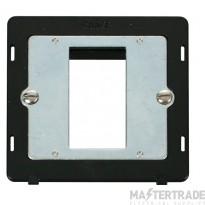 Click Definity Single Media Plate 1G Aperture Module SIN310BK