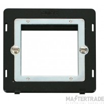 Click Definity Single Media Plate 2G Aperture Module SIN311BK