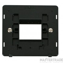 Click Definity 1 Gang Plate 2G Aperture Switch Insert SIN402BK