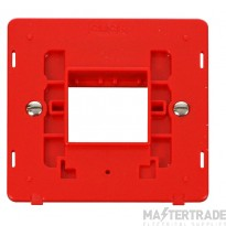 Click Definity Switch Interior 1 Gang 2 Aperture Red SIN402RD
