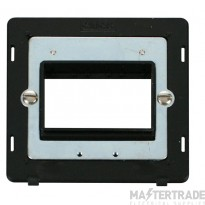 Click Definity 1 Gang Plate 3G Aperture Switch Insert SIN403BK