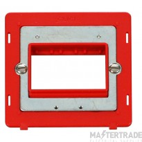 Click Definity Switch Interior 1 Gang 3 Aperture Red SIN403RD