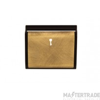 Click New Media SP620BKAB Hotel Switch Card Cover Plate An/Brass