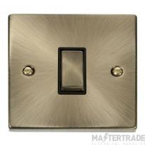 Click Deco Antique Brass 1 Gang 2 Way Switch VPAB411BK