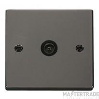 Click VPBN065BK Socket CoAx Single BN