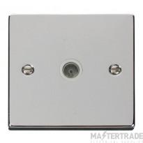 Click VPCH065WH Socket CoAx Single PC