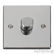 Click Deco Polished Chrome 1 Gang 2 Way Dimmer Switch VPCH140